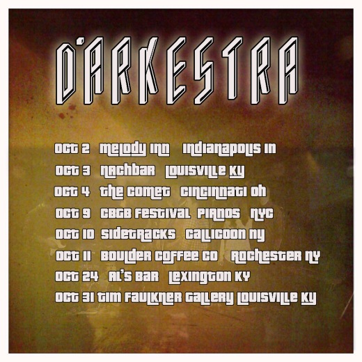 OCT DATES POSTER